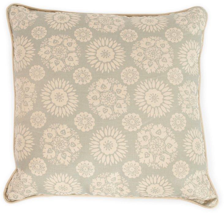 2-Sided Lola Pillow, Slate