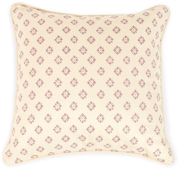 2-Sided Sidone Pillow, Mauve