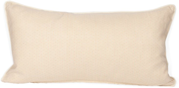 2-Sided Tonal Ticking Pillow, Pink