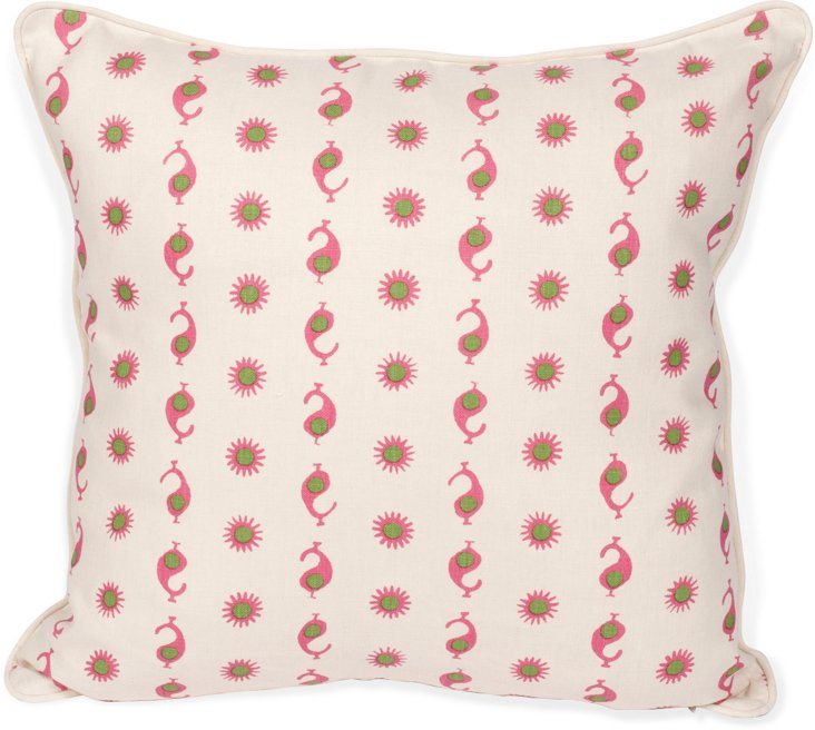 2-Sided Casablanca Pillow II