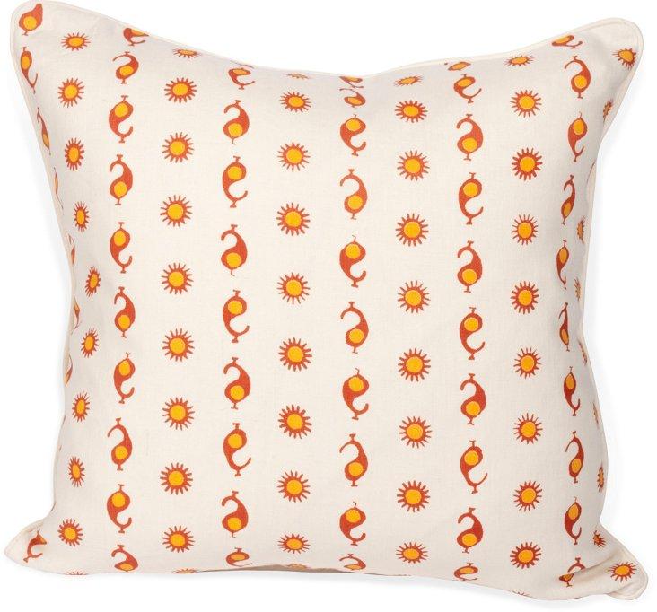 2-Sided Casablanca Pillow IV
