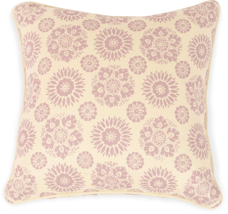 2-Sided Lola Pillow, Mauve