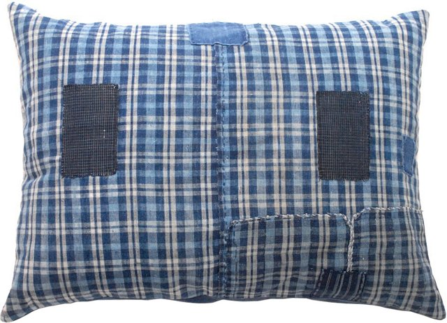 Japanese Patchwork Pillow