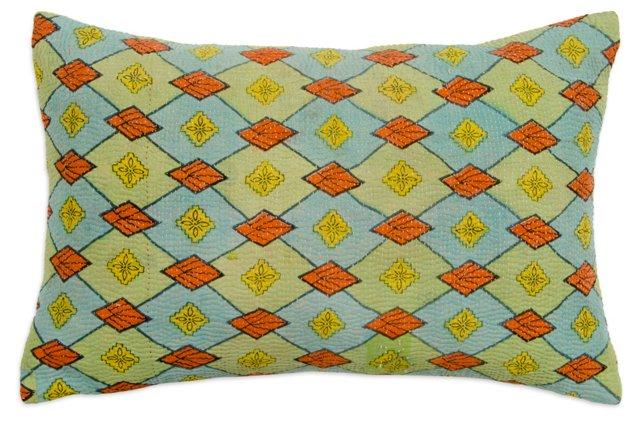 Sidone & Diamond Vintage Pillow
