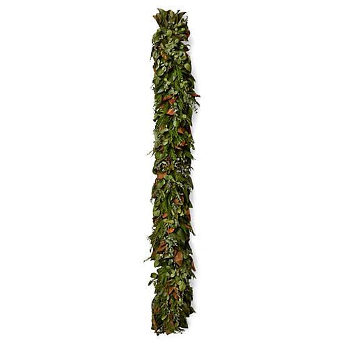 8' Cyprus & Eucalyptus Garland