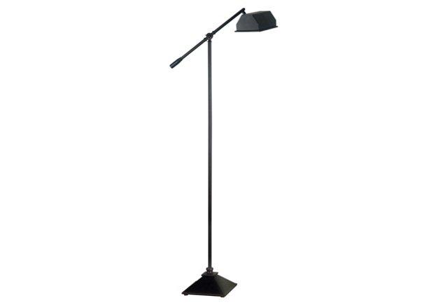 Southport Floor Lamp, Black