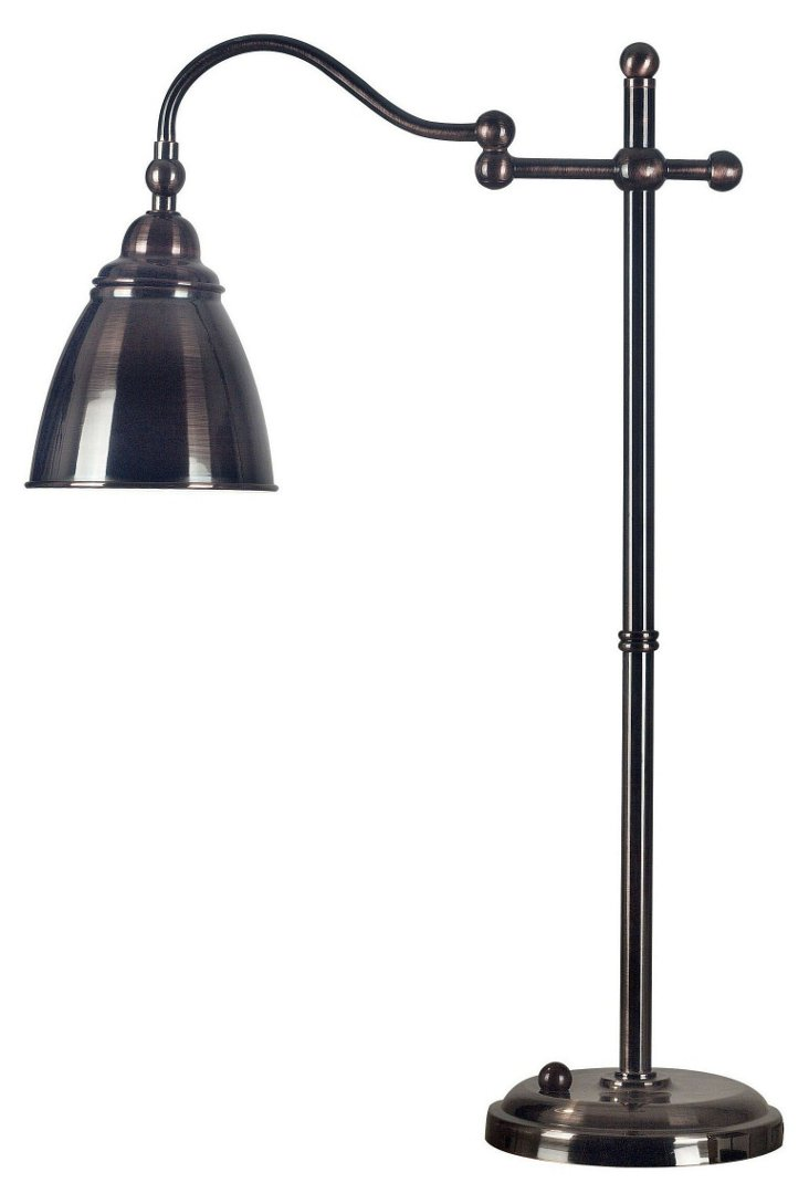 Soter Table Lamp, Bronze
