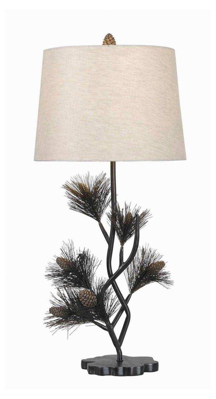 Pine Table Lamp