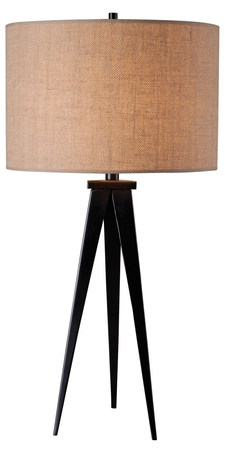 Spike Table Lamp, Bronze