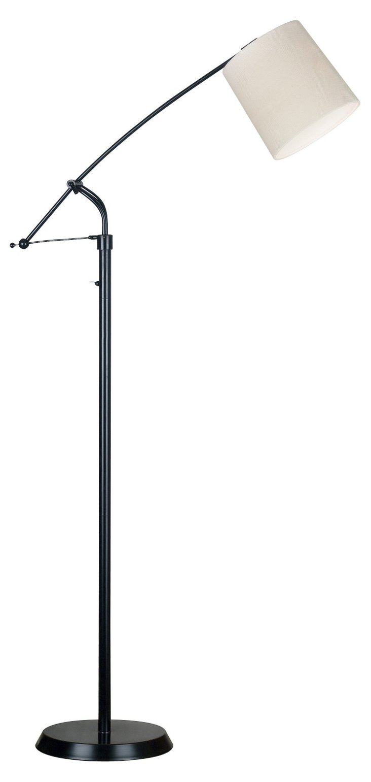 Confucius Floor Lamp, Oil Rubbed Bronze