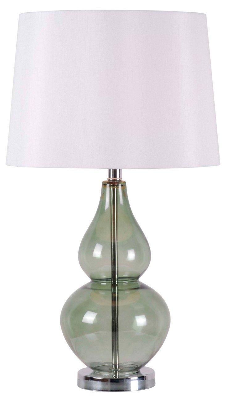 Clara Table Lamp, Spruce