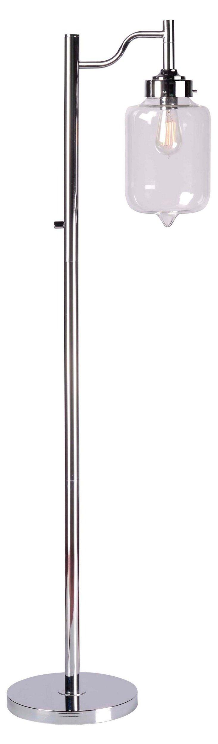 Concord Floor Lamp, Chrome