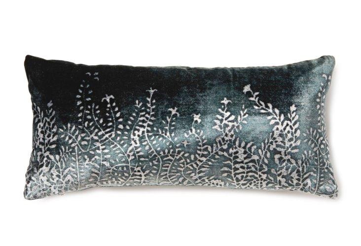 Ferns 8x16 Pillow, Forest Moss