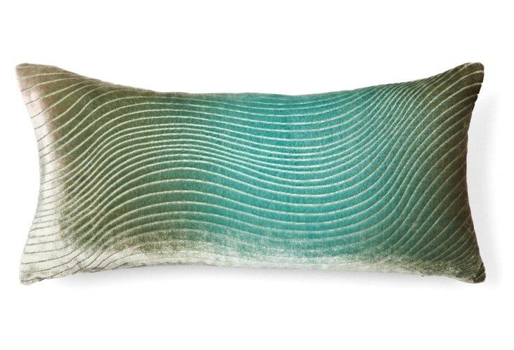 Slinky 8x15 Pillow, Teal