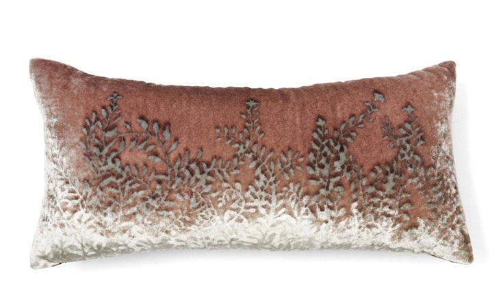 Ferns 8x16 Pillow, Beige
