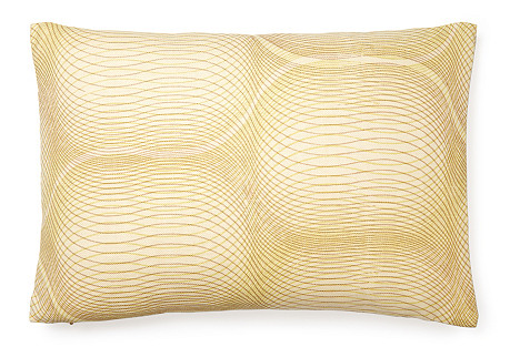 Slinky 14x20 Linen Pillow, Citrus