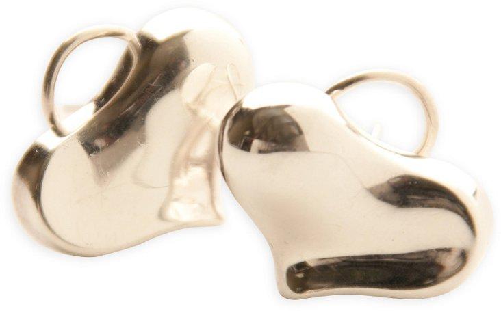 Angel Cummings Silver Earrings