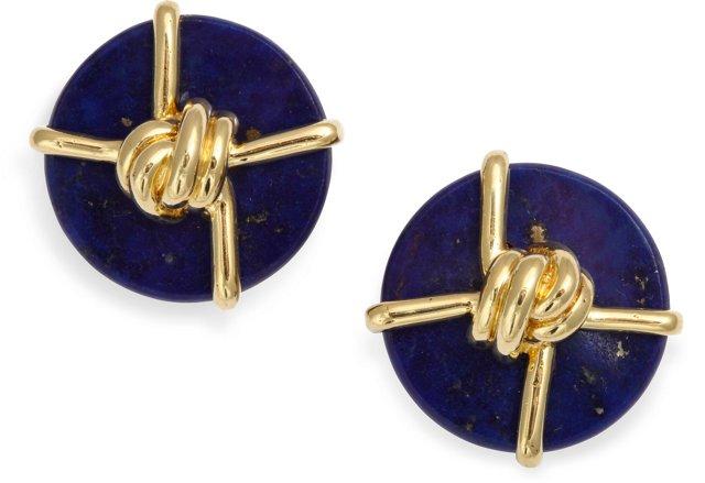 Cartier Cipullo Lapis Nautical Earrings