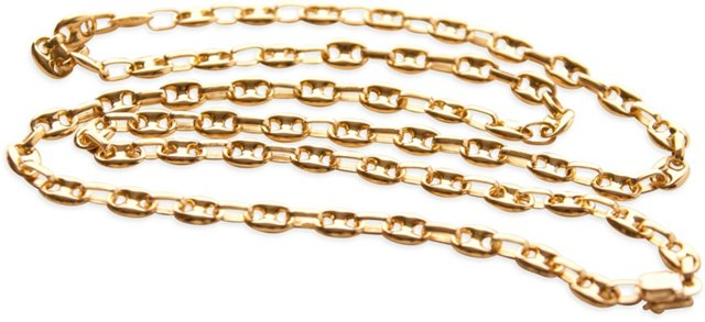 Gucci-Style 18K Gold Necklace