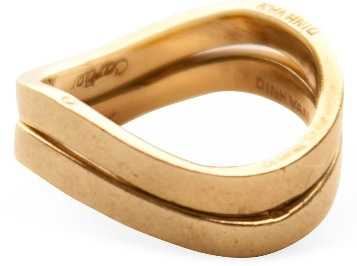 Cartier Dinh Van Stacked Rings, Set of 2