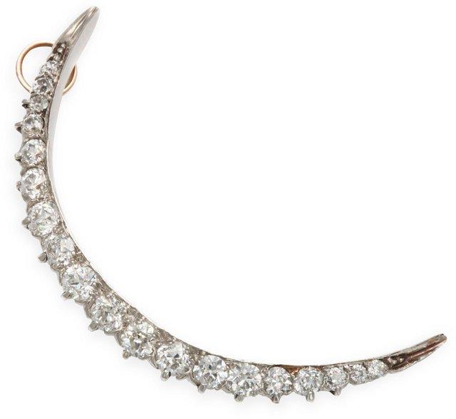 Antique Tiffany Diamond Brooch