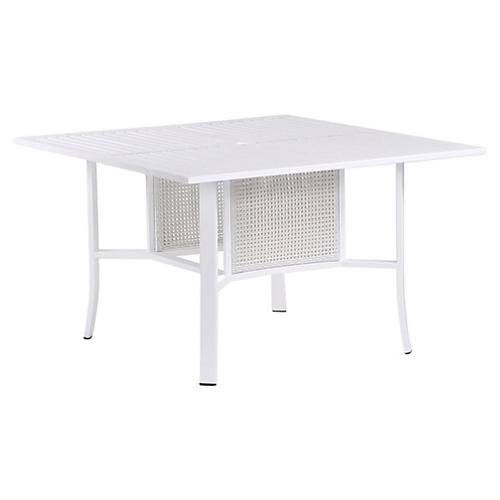 """Parkview 48"""" Dining Table, White"""