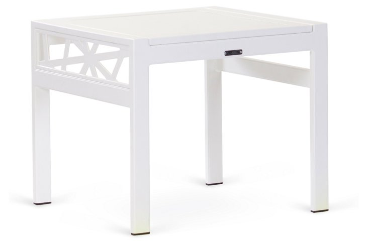 Parkview Knest Side Table, White