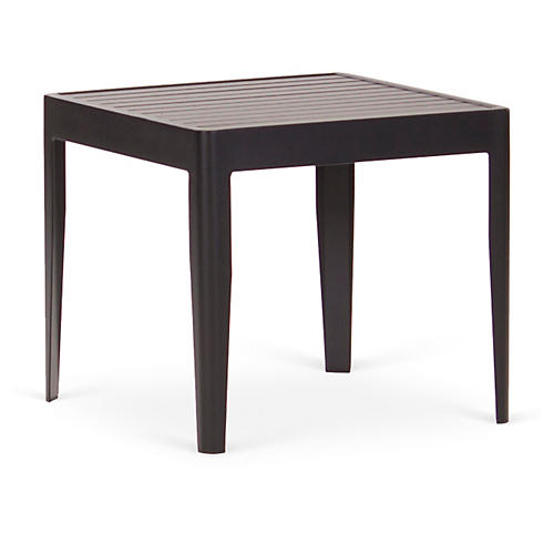 "Serene 20"" Side Table, Black"