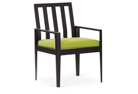Serene Armchair, Gingko Green