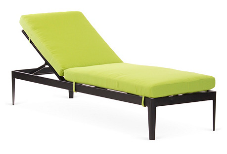 Serene Armless Chaise Longue