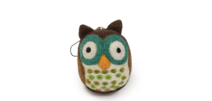 Owl Ornament, Small