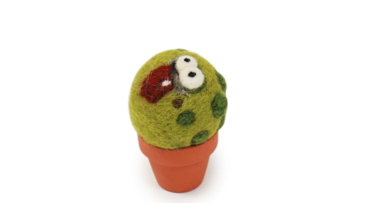 Cactus Monster with Pot