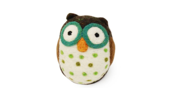 Owl Ornament, Medium