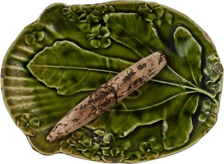 Majolica Leaf Dish