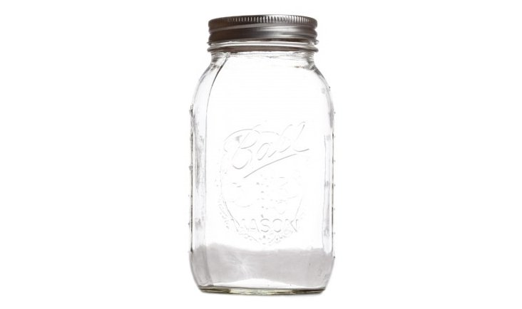 S/6 Mason Ball Jars, 16 Oz
