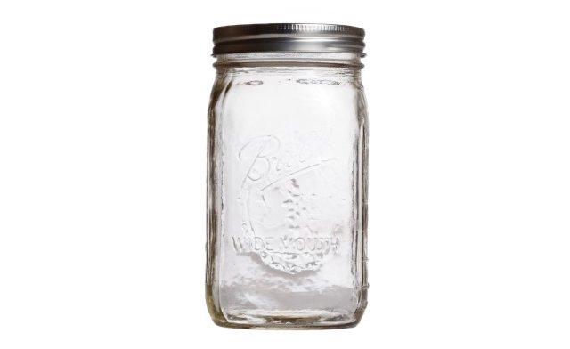 S/6 Mason Wide Ball Jars, 32 Oz