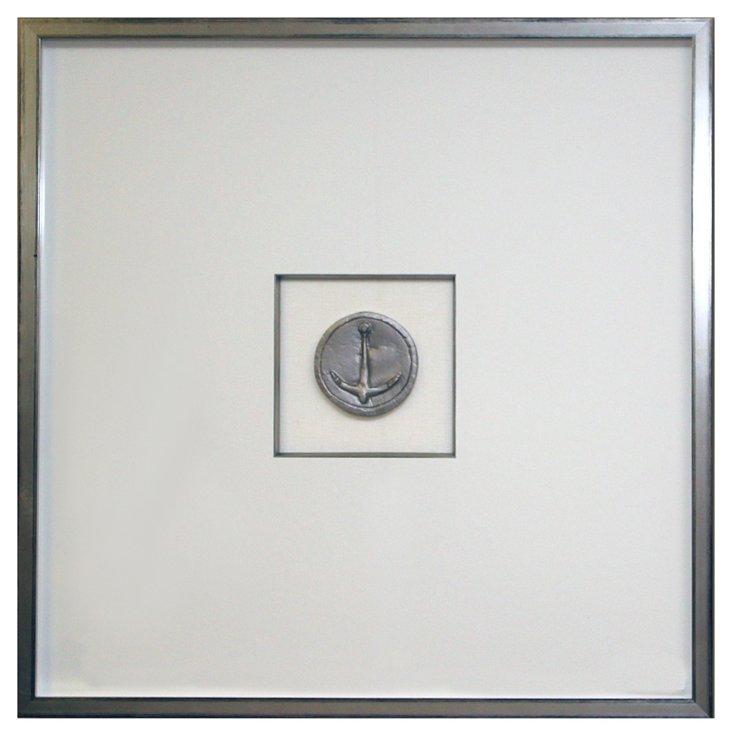 Silver Anchor Intaglio VI