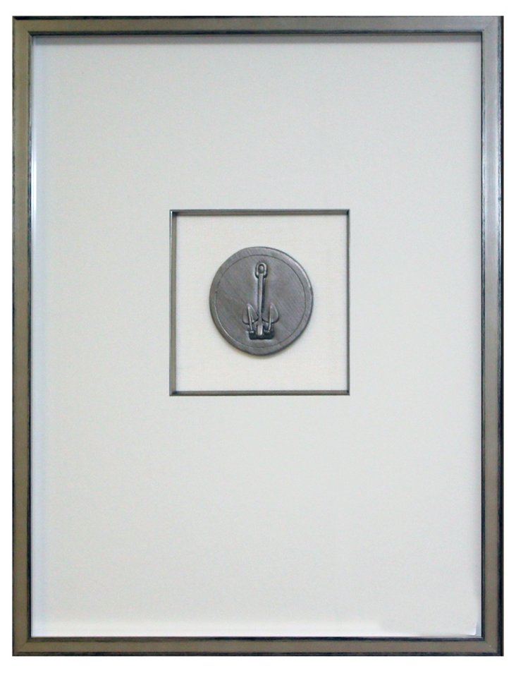 Silver Anchor Intaglio IV