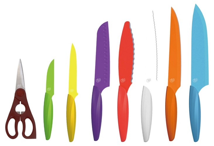 8-Pc Knife Set, Multi