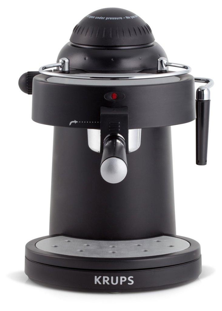 Espresso Maker w/ Steam Nozzle, Black
