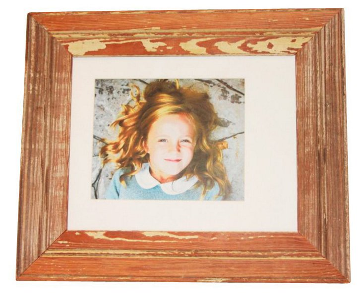 "16"" x 14"" Bead Board Frame, Natural"