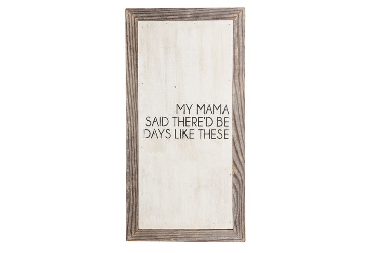 """""""Days Like These"""" Word Board"""