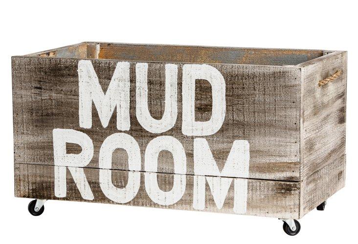 "Mud Room Crate, 37"""