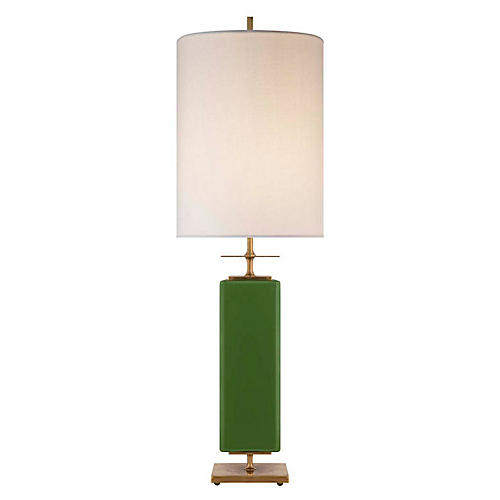 Beekman Table Lamp, Green