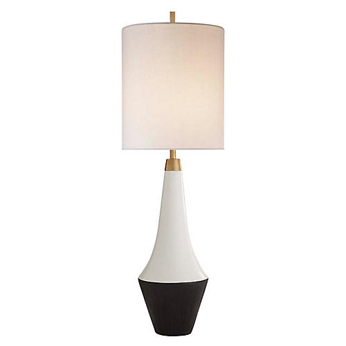 Neale Table Lamp, Multi/Cream