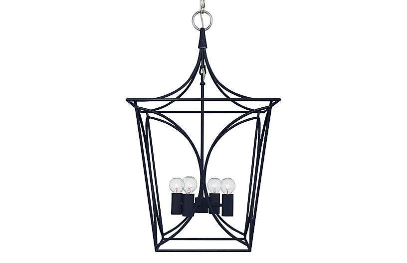 Cavanagh Lantern, French Navy/Nickel