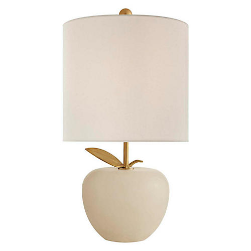 Orchard Mini Table Lamp, Alabaster