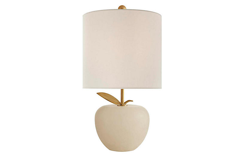 Orchard Mini Table Lamp, Alabaster
