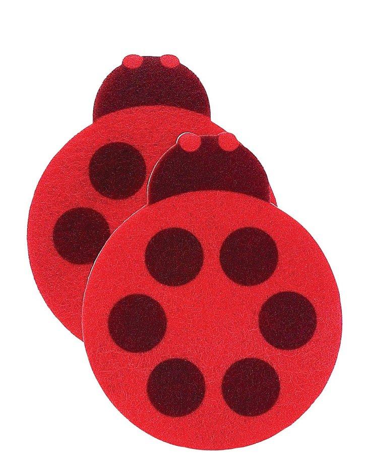 S/4 Ladybug Sponges