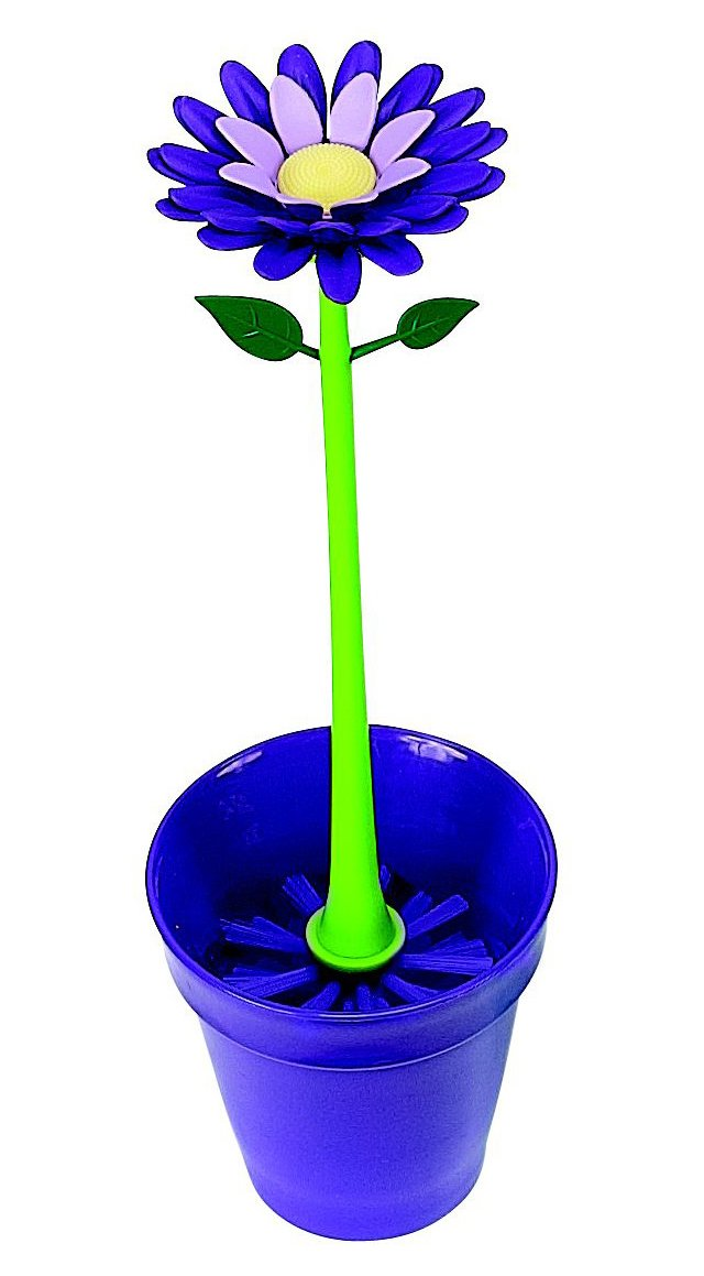 Flower Garden Brush Set, Plum